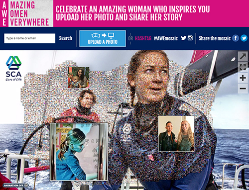 Amazing Women Everywhere Online Photo Mosaic