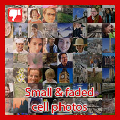 Photo mosaic (small cells)