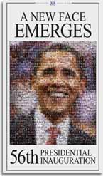 Barack Obama Photo Mosaic