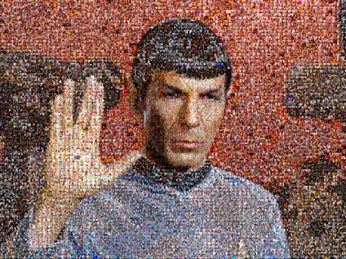 Live Long and Prosper photo mosaic
